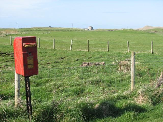Unused postbox