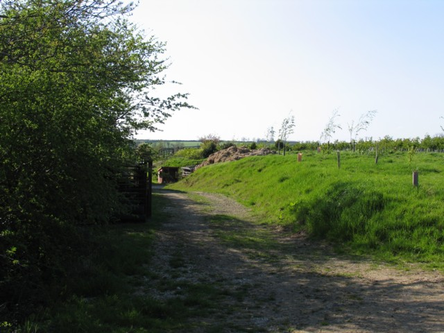 Hill Top Farm Entrance