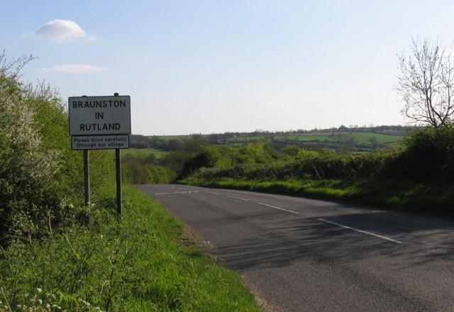 Road towards Braunston-in-Rutland