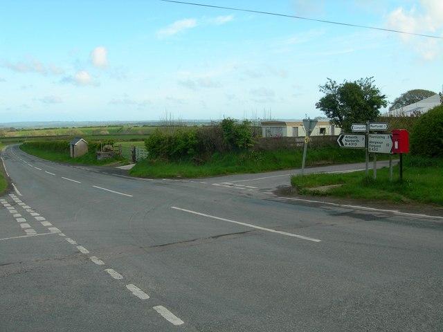Llanycefn Crossroads