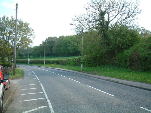 Road from Codicote, Herts.
