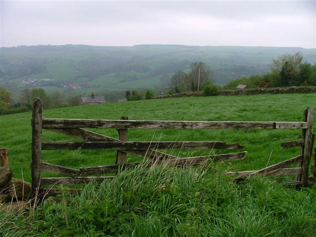View Across the Fields Over the Esk Valley