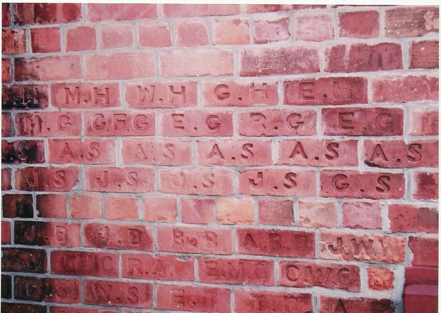 North Leverton Sunday School Foundation Bricks