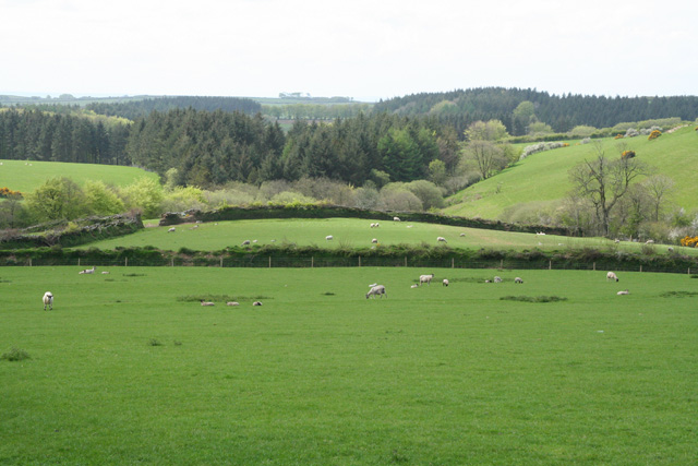 Challacombe: by Westland Farm