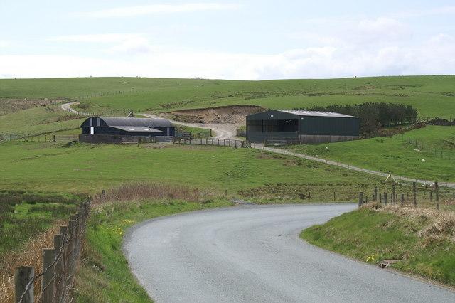 Mynydd Garnedd-wen Farm Sheds