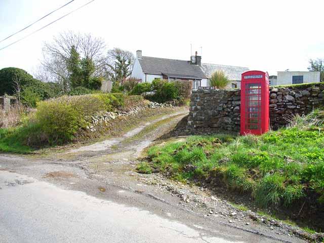 Telephone box at Hill Head