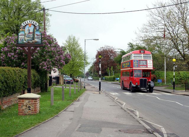 Felsted Village Sign