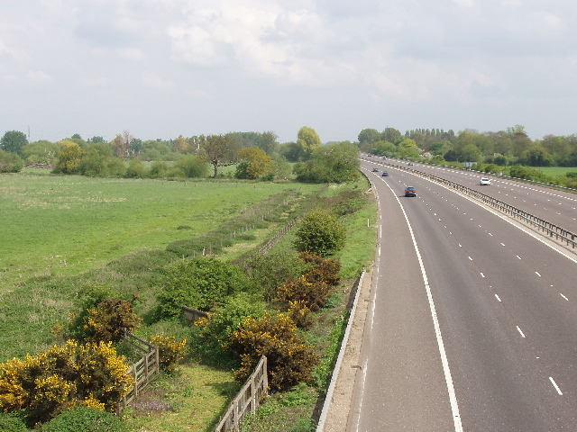 M3 Motorway at Chertsey