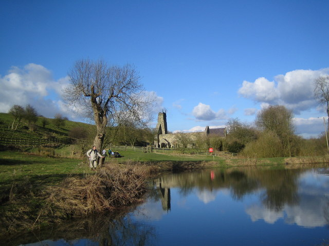 The Old Mill Pond at Wharram Percy