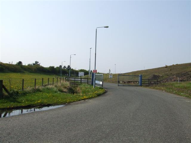 Entrance to ex-NCB property, Follingsby