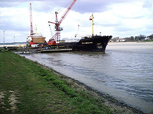 Baltic Wharf Jetty