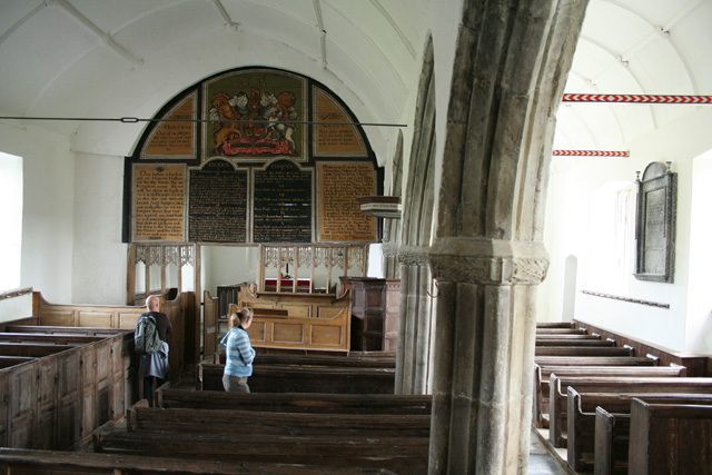 Parracombe: St Petrock�s church