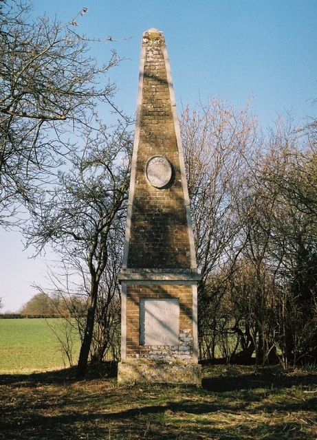 The Fransham Obelisk to Nelson and the Peace of 1814