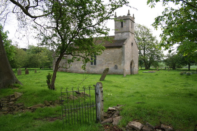 All Saints' church, Brauncewell, Lincs.
