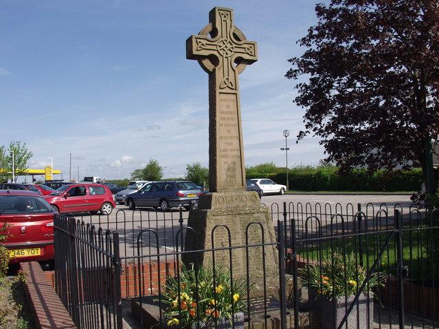 First World War Memorial in St. Martins