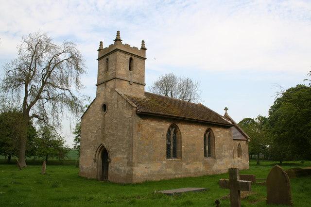 All Saints' church, Brauncewell