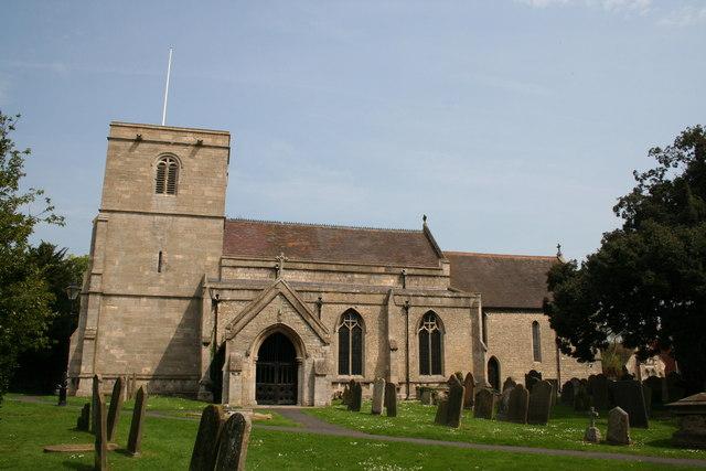 All Saints' church, Ruskington, Lincs.