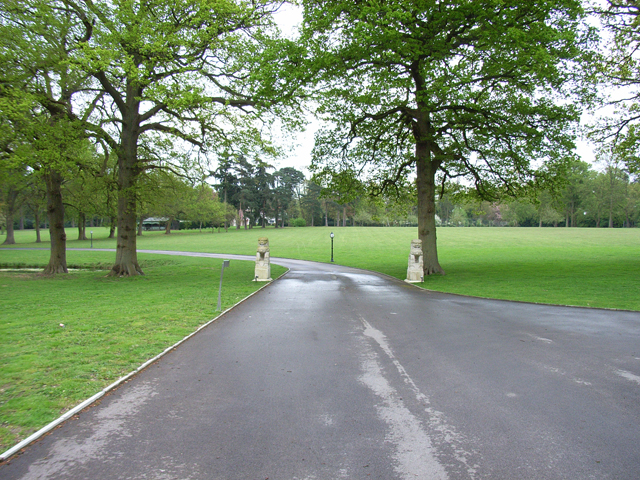 The grounds of Woodhay