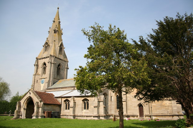 St.Edith's church, Anwick, Lincs.