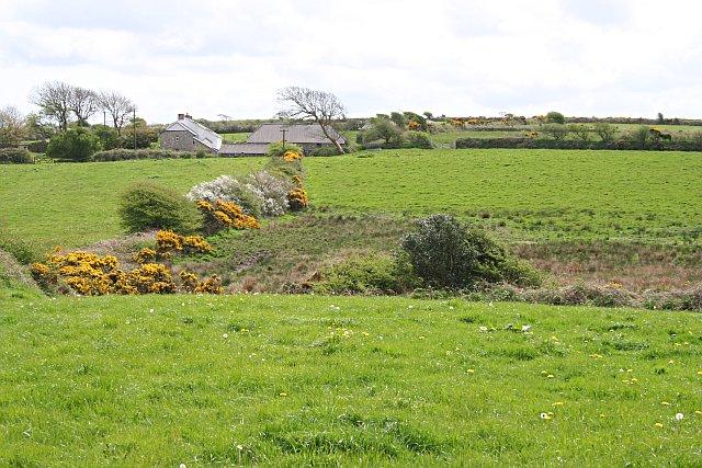 Trekewis Farm and Surrounding Pastures