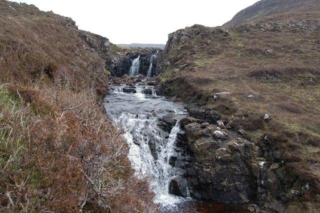 Waterfall on the Lorgill River