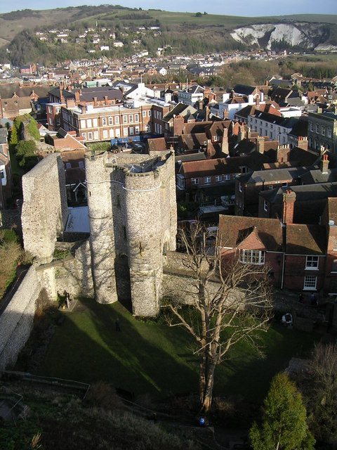 Lewes Castle Barbican Tower