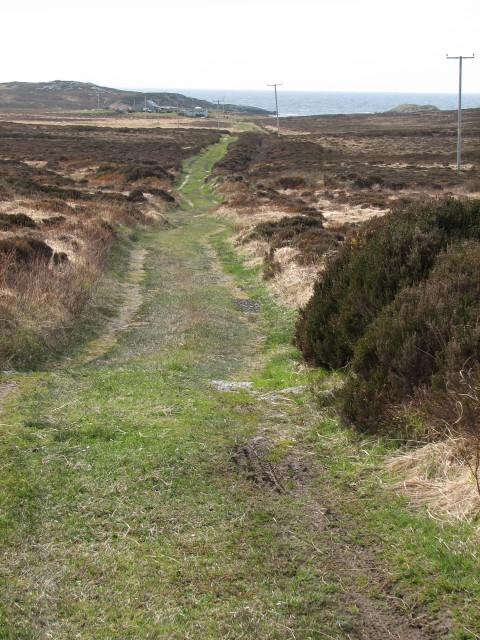 Footpath to Hyne
