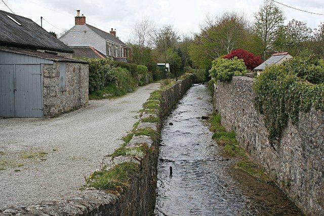 The River Kennall near Foundry, Stithians