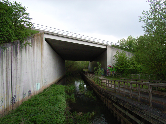River Blackwater, Farnborough