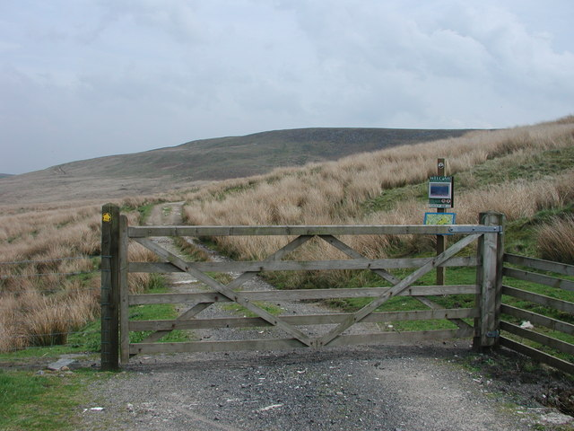 Gate at Fell Side Farm