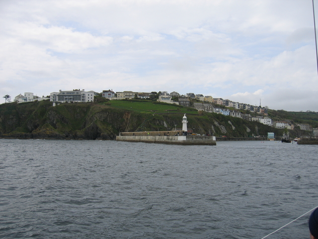 Mevagissey Harbour entrance