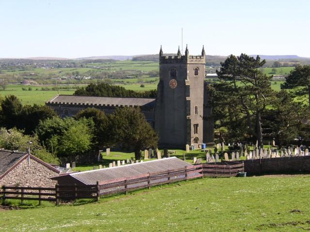 St Oswald's Church, Warton