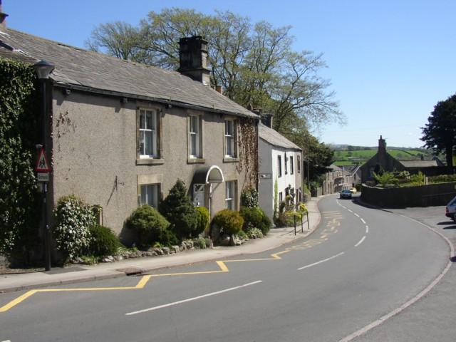 Main street, Warton, looking south