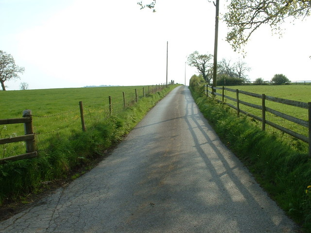 The lane to Meadow Farm