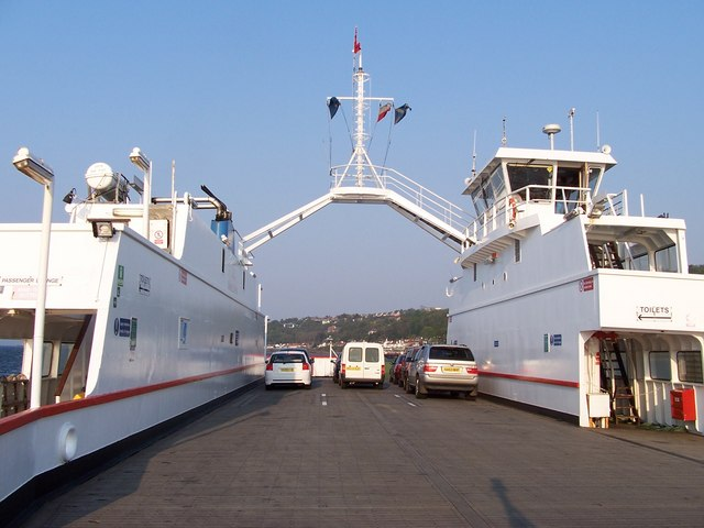 Sound Of Sanda Ferry off Gourock