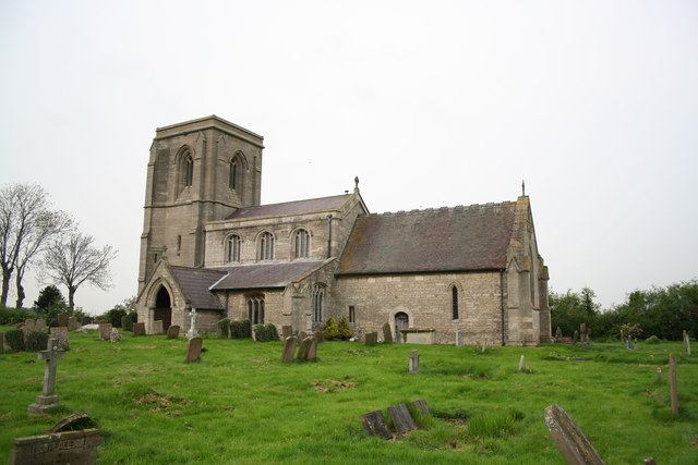 St.James & St.John's church, Dorrington, Lincs.