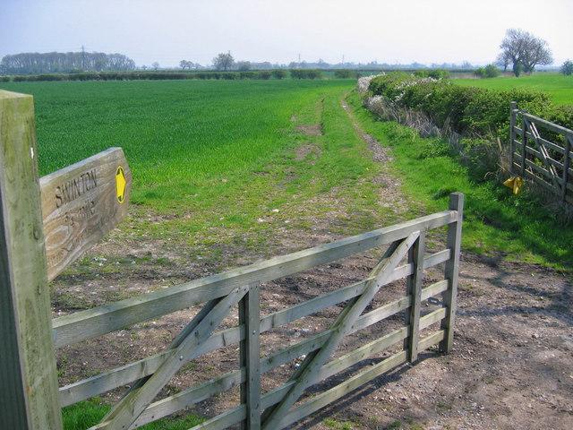 Footpath to Swinton