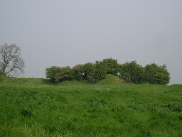 Castle mound at Laxton, Nottinghamshire