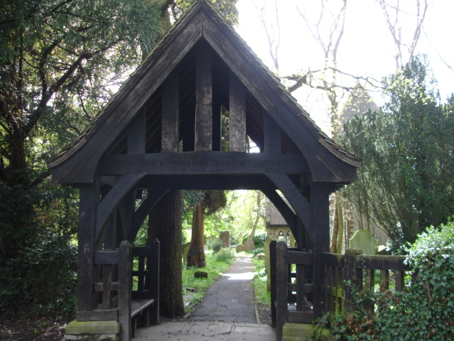 Lych Gate Nr Hollington East Sussex
