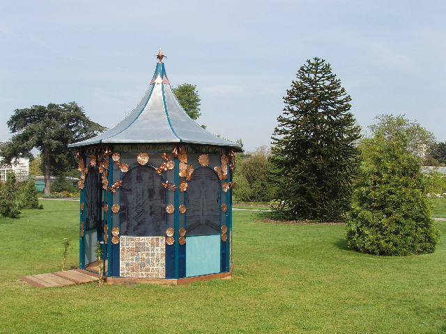 Temple of the imagination, Kew Gardens