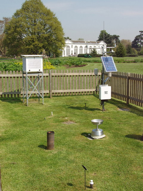 Weather station in Kew Gardens