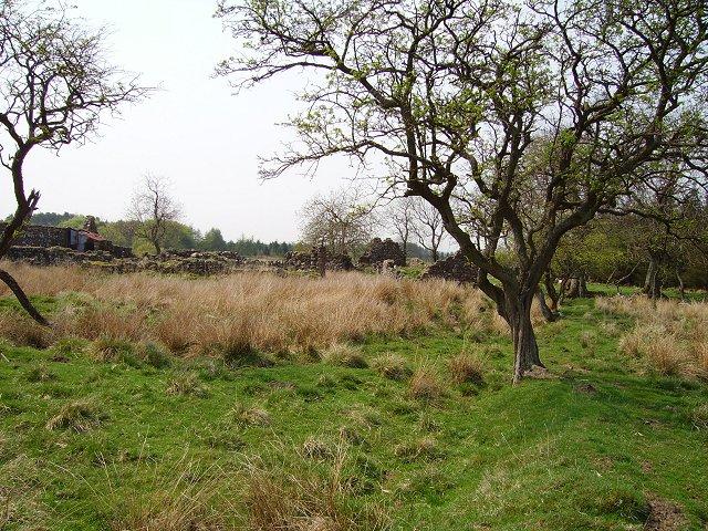 Ruined farm, Camilty