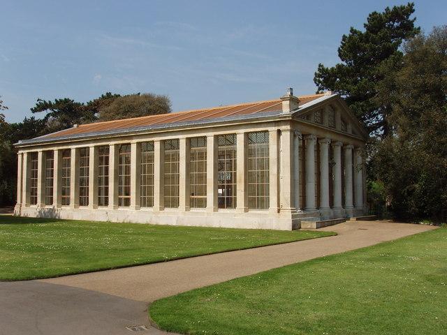 Nash conservatory, Kew Gardens