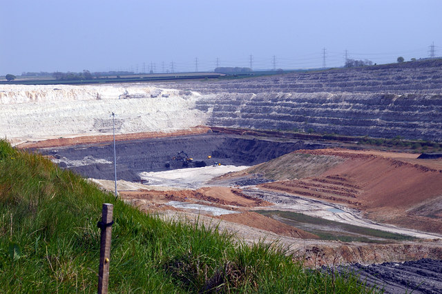 Working Face - South Ferriby Quarry