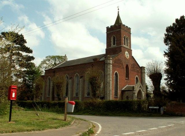 St. John The Evangelist church, Cornish Hall End, Essex