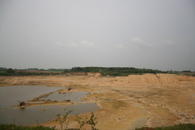 Quarry on Scopwick Heath