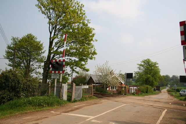 Frinkley Lane level crossing