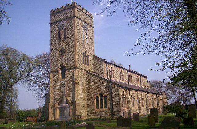 Newchurch church, Culcheth