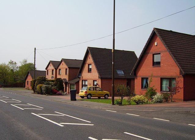 New houses, Blackburn.