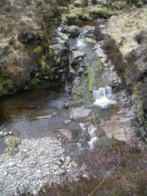 Waterfall, Allt Teanga nan Calseachan